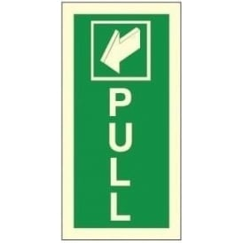 Photoluminescent - Pull Signs