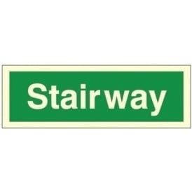 Photoluminescent - Stairway Sign