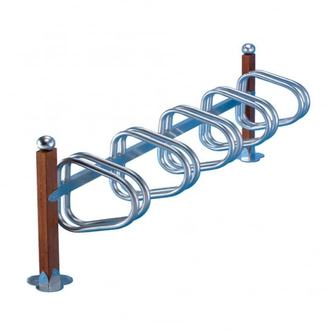 Pillar Bike Racks - Side by Side Parking