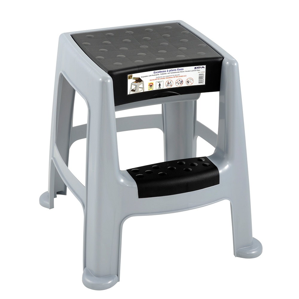 Plastic Step Stool With Storage Box Parrs Workplace