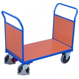 Platform Truck with Beech Double End Panels Cap: 500kg