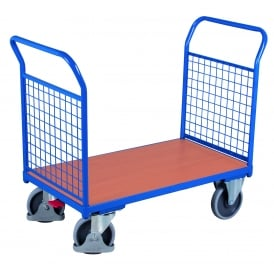 Platform Truck with Mesh End Panels Cap: 500kg