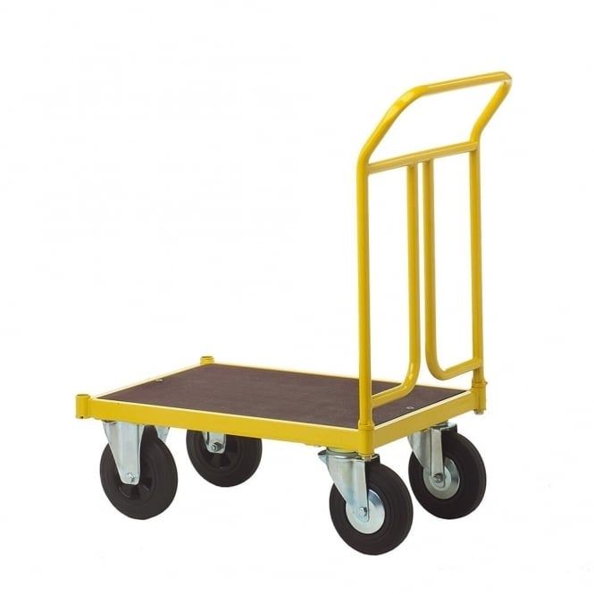 Platform Trucks with Solid Rubber or Pneumatic Tyres Cap: 400kg