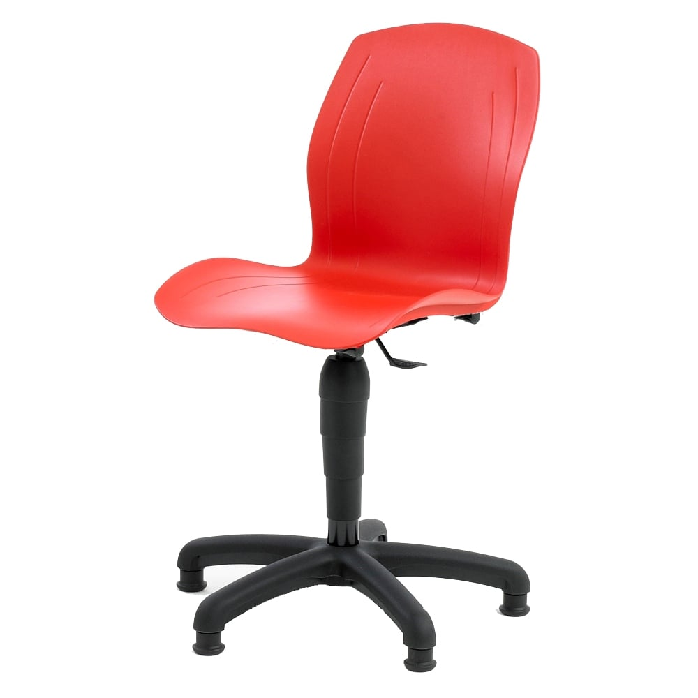 Genial Polypropylene Chairs With Castors Or Glides