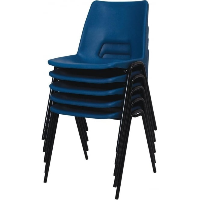 Polypropylene Chairs with or without padded seat & back