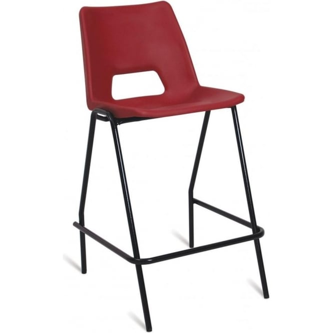 Polypropylene High Chair with optional padded seat & back