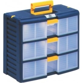 Portable Plastic 3 Drawer Cabinet