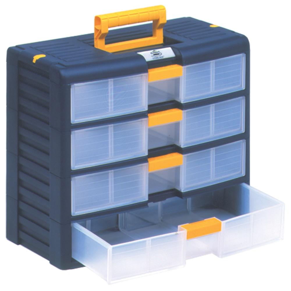 Portable Plastic 4 Drawer Cabinet Parrs