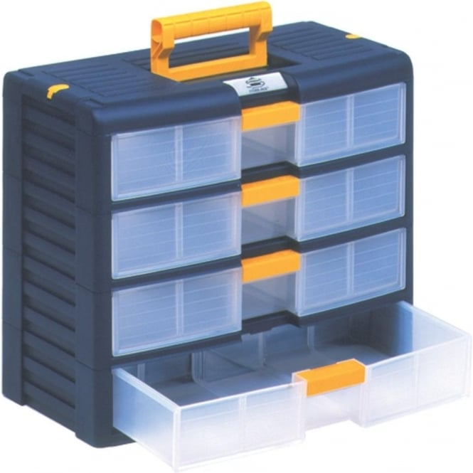 Portable Plastic 4 Drawer Cabinet