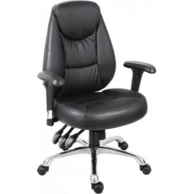 Portland Faux Leather Executive Office Chair