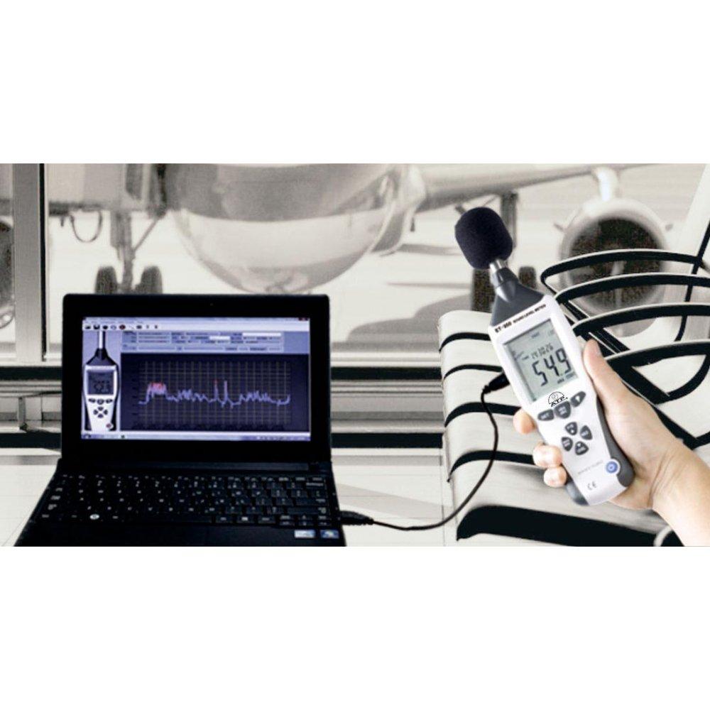 Precision Data Logging Sound Level Meter