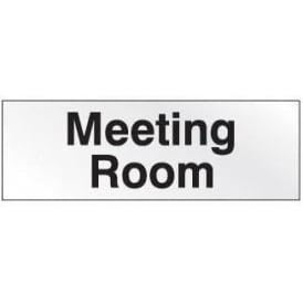 Prestige Door Sign - Meeting Room