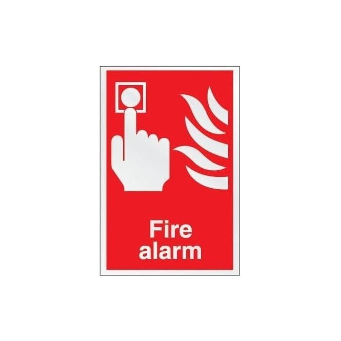 Prestige Fire Extinguisher Identification Sign: Fire Alarm