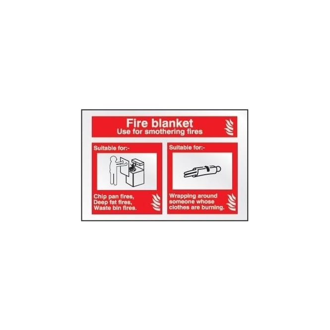 Prestige Fire Extinguisher Identification Sign: Fire Blanket