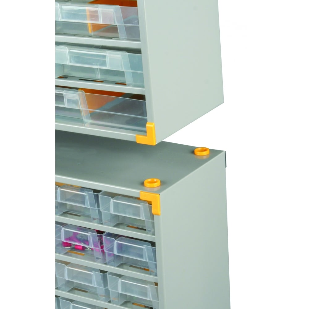 PARRS Professional Steel Visible Multi Drawer Storage Cabinets Pack ...