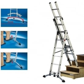 Profistep® Professional Combination Ladders