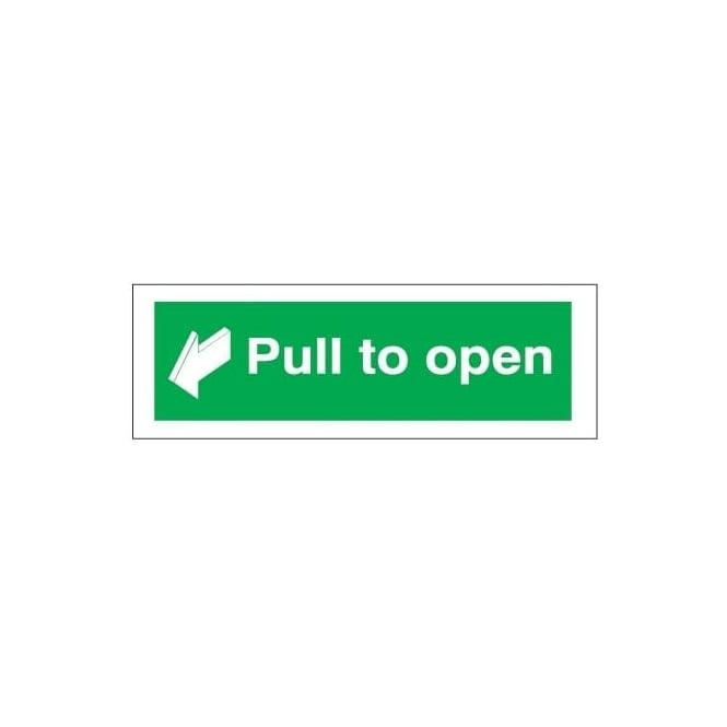 Pull to open Signs