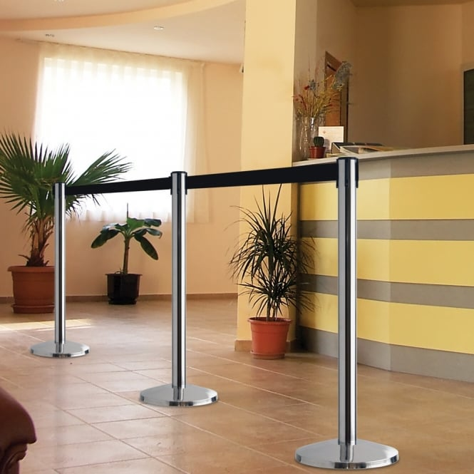 Queueway Retractable Belt Barriers Per 2