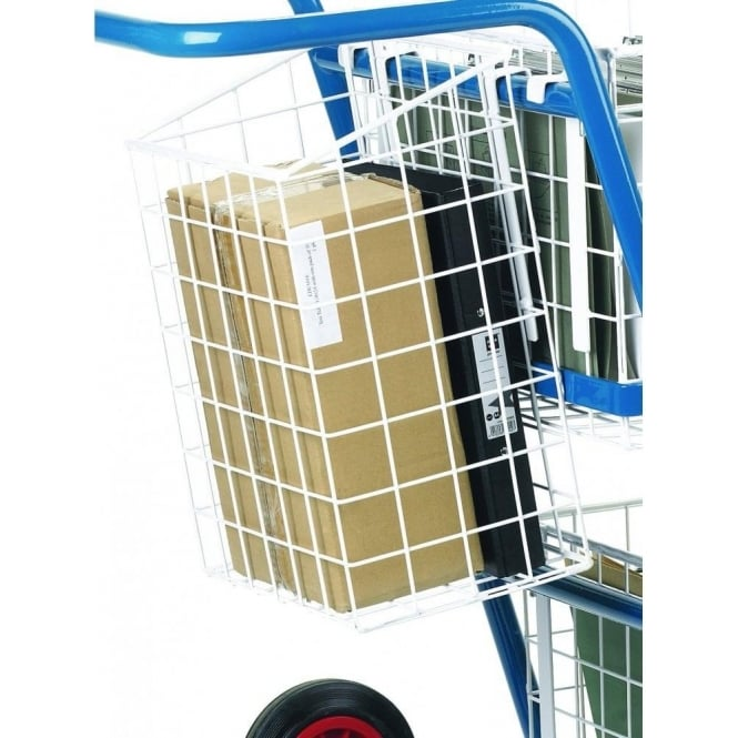 Rear Pannier Basket For Mail Distribution Trolley