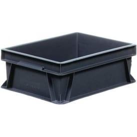 Recycled Euro Containers with solid sides and base