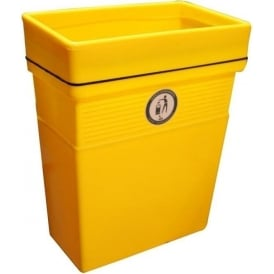 Regent Open Top Wall/Posted Mounted Bin Cap: 30lt & 50lt