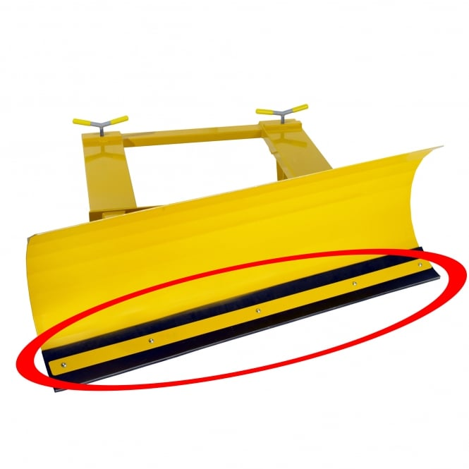 Replacement Rubber Wearstrip for Snow Plough