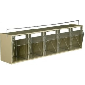 Retaining Bar for TOPSTORE Clearbox Small Parts Storage Units