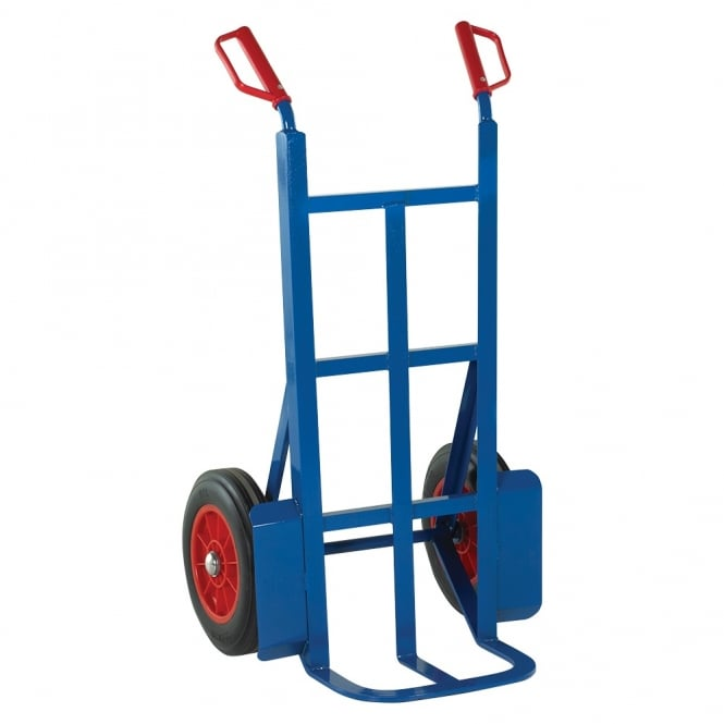 Rough Terrain Sack Trucks with solid rubber tyres Cap: 350kg