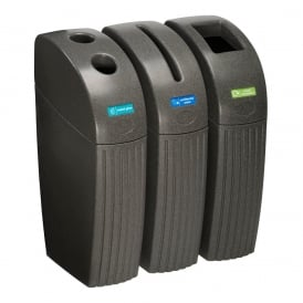 Royale Slim Recycling Bins Cap: 55lt