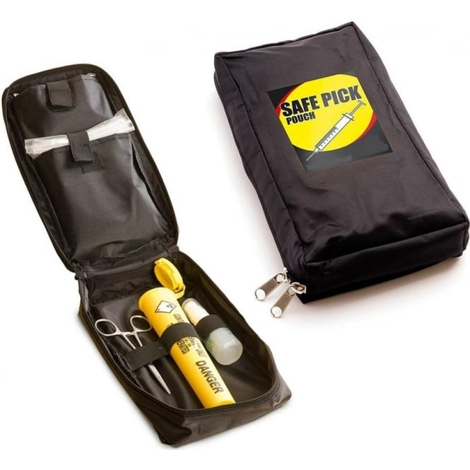 Safe Pick Pouch - Portable Sharps Collection Kit