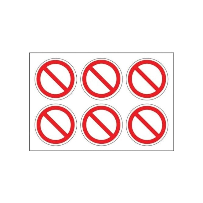 Safety Labels - No Entry