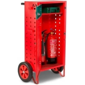 SafetyKart Fire Extinguisher Storage Stand