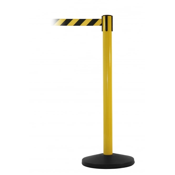SafetyMaster Freestanding Retractable Belt Barriers