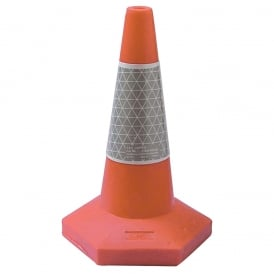 Sand Weighted Traffic Cones Pk Qty