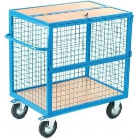 Security Container Trucks with mesh or solid sides