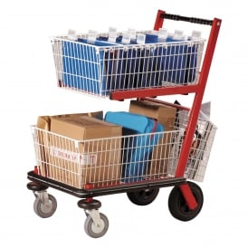 Senior Mailroom Distribution Trolleys Cap: 90kg