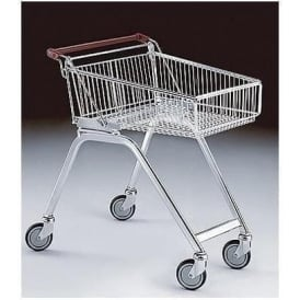 Shallow Wire Shopping Trolley Cap: 80lt