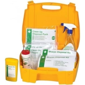 Sharps & Body Fluid Disposal Kit