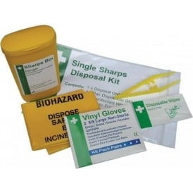 Sharps Disposal Kit - 1 application