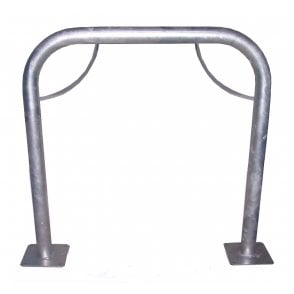 Sheffield Bike Stand Galvanised Pre-drilled for Surface Mounting