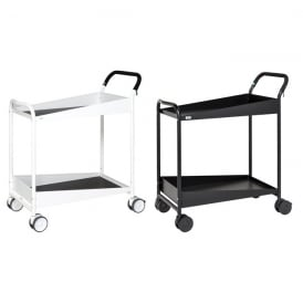 Shelf Trolleys with rubber anti-slip covering Cap: 150kg