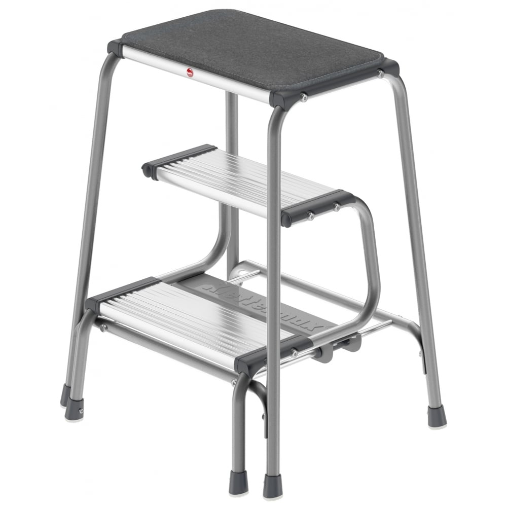 Sit Stand Folding Step Stool  sc 1 st  PARRS & HAILO Sit Stand Folding Steps | PARRS | Workplace Equipment Experts islam-shia.org
