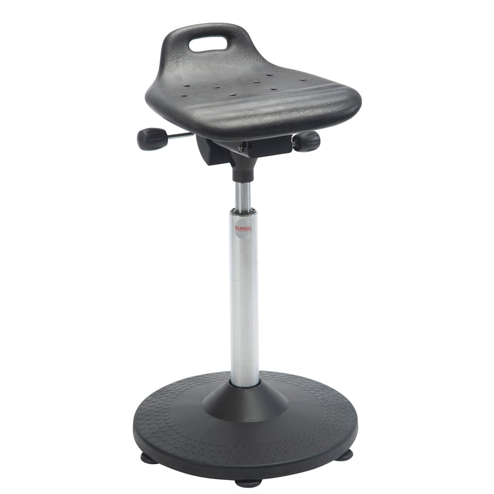 sitstand stool with circular base
