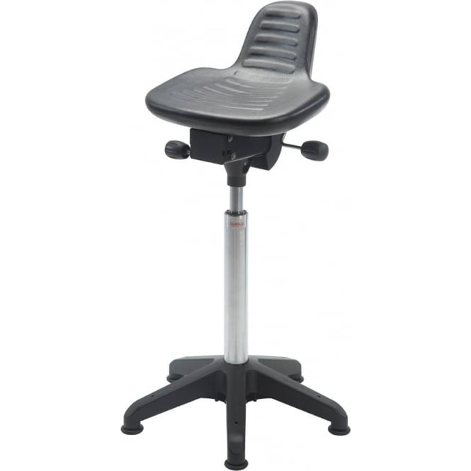 Sit/Stand Stool with glides