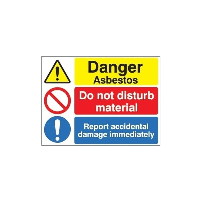 Site Signs: Danger Asbestos