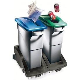 Slim Jim Waste Separation Bin Cap: 60.5lt or 87lt