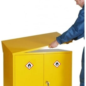 Sloping Top for Hazardous Storage Cabinets & Chests