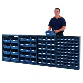 Small Parts Bin Units - Half Height