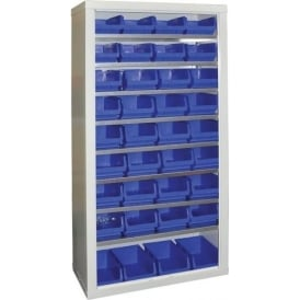 Small Parts Storage Bin Shelving Units