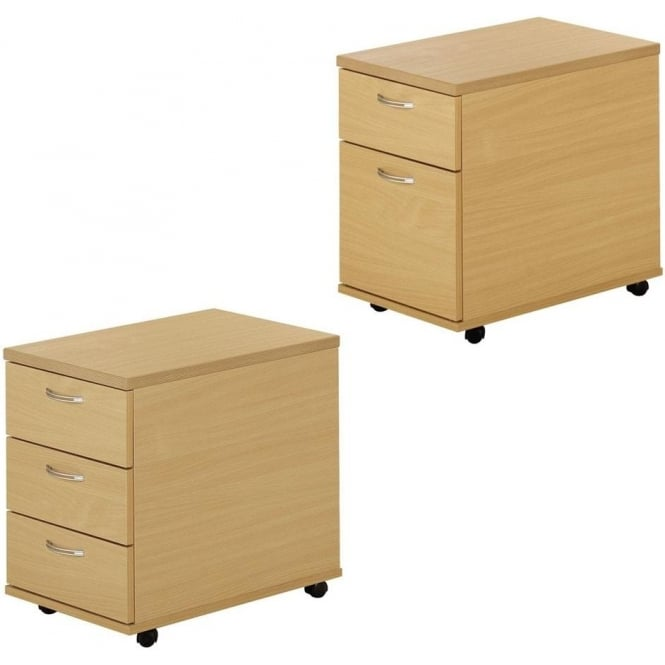 SoHo Urban Mobile Drawer Pedestals